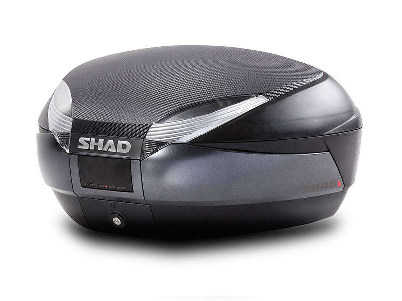 Hátsó doboz SHAD SH48 sötét szürke