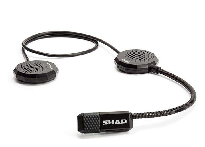 Motoros sisak kihangosító GPS/Okostelefon/MP3/Intercom-hoz