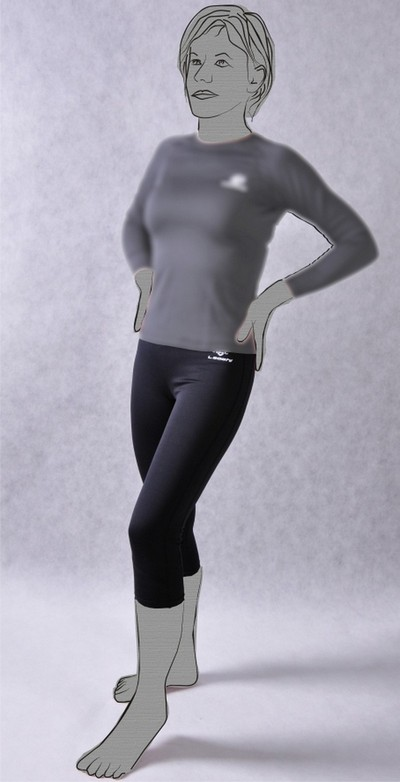 nadrág aláöltöző THERMOACTIVE női LEOSHI S