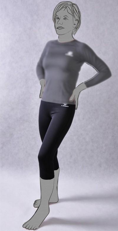 nadrág aláöltöző THERMOACTIVE női LEOSHI M