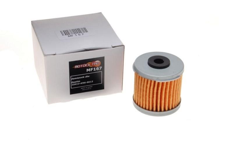 olajszűrő MF167 (HF167)MOTOFILTRO 15412-KN6-9612