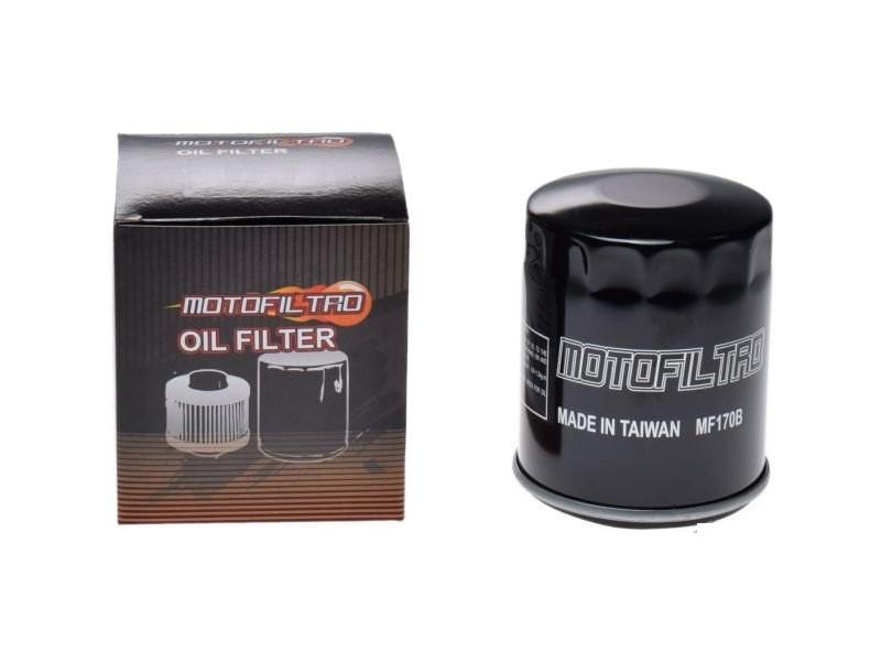 Olajszűrő MF170B (HF170B ) MOTOFILTRO fényes fekete