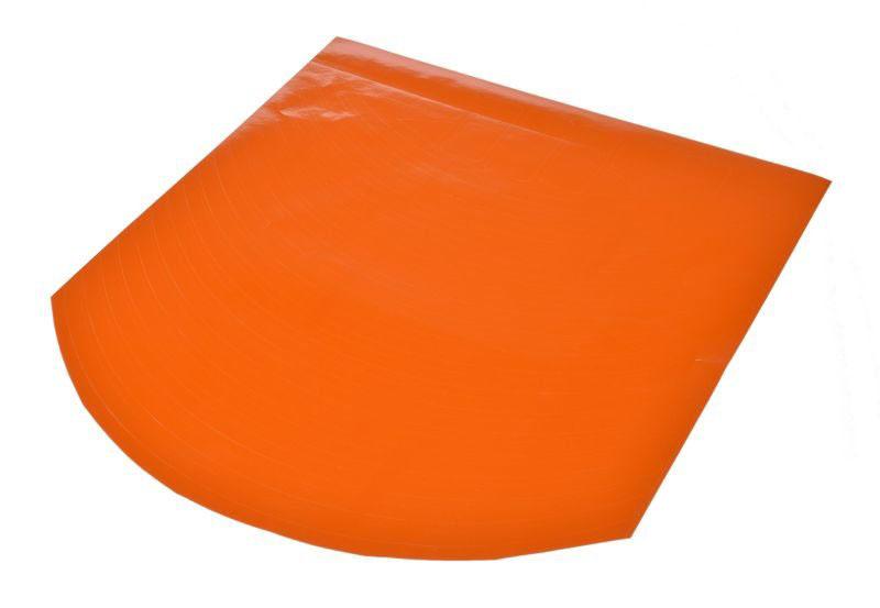 Dekor csík matricák, felni, 10col, narancssárga