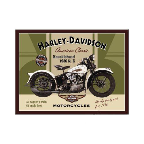 Mágnes, HARLEY-DAVIDSON KNUCKLEHEAD 14224