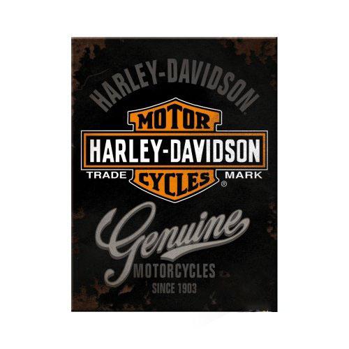 Mágnes, HARLEY-DAVIDSON GENUINE LOG 14225