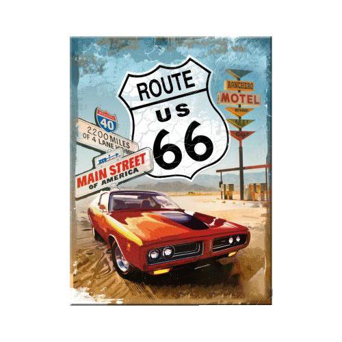 Mágnes, ROUTE 66 RED CAR 14229