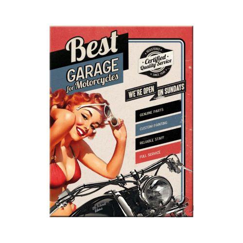 Mágnes, BEST GARAGE RED 14276