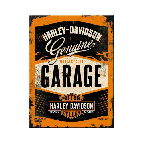 Hűtőmágnes, HARLEY-DAVIDSON GARAGE 14332