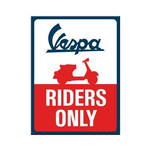 Mágnes, VESPA RIDERS ONLY 14380