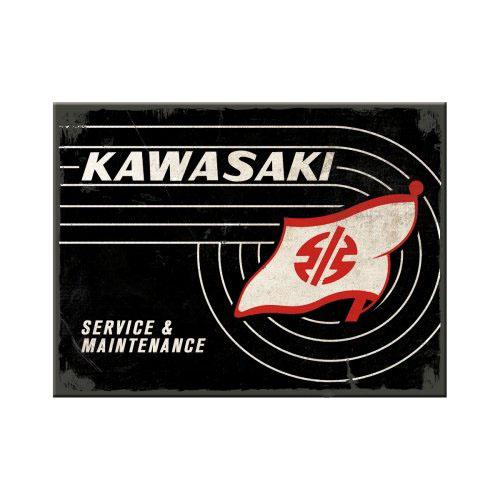 Mágnes, KAWASAKI TANK LOGO 14382