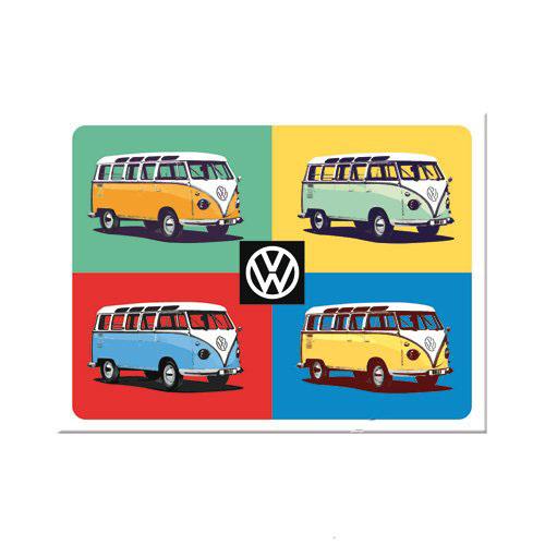 Mágnes, VW BULLI POP ART 14388