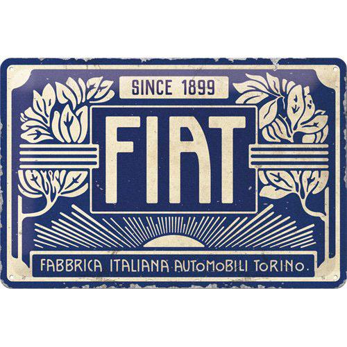 Tábla, 20x30 FIAT SINCE 1899 22321