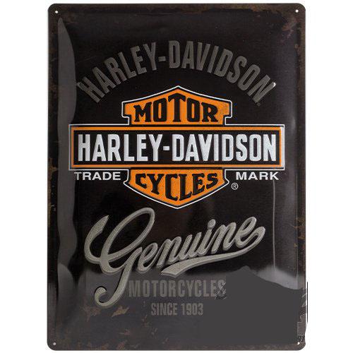 Tábla, 20x30 HARLEY-DAVIDSON 23125