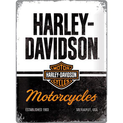 Tábla, 30x40 HARLEY-DAVIDSON 23266