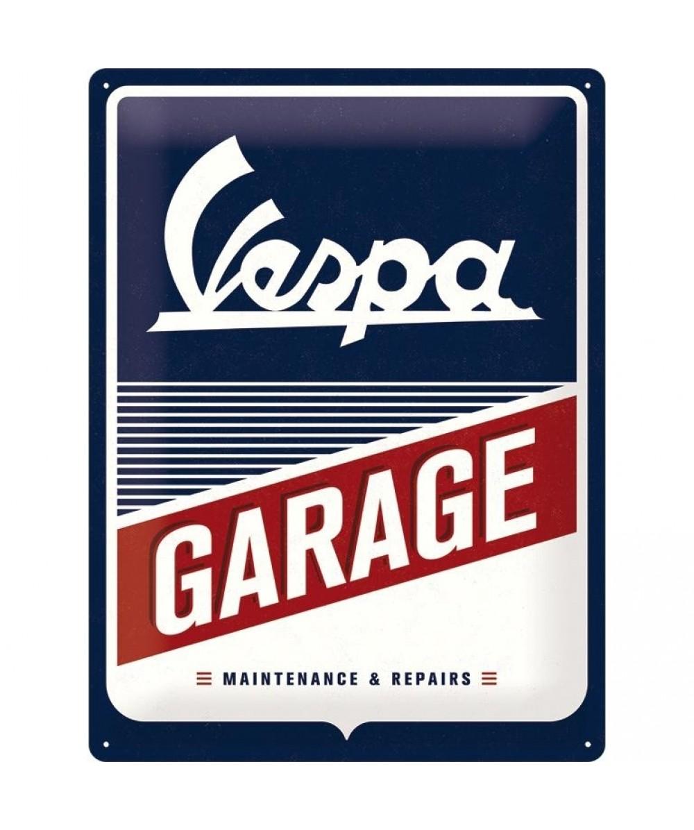Acéltábla, VESPA GARAGE 15x20