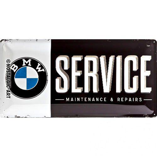 Acéltábla, BMW SERVICE 25x50cm