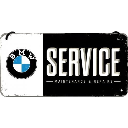 Acéltábla, BMW SERVICE 10x20
