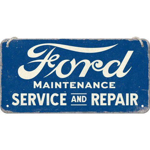 Lógatható acéltábla, FORD SERVICE 28046