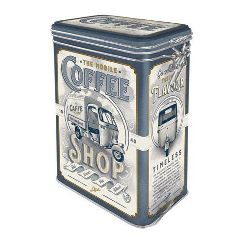 Doboz, kapoccsal zárható, APE COFFE SHOP 31123