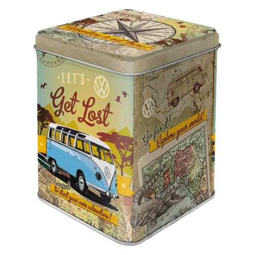 Teás doboz, VW BULLI LETS GET LOST 31306