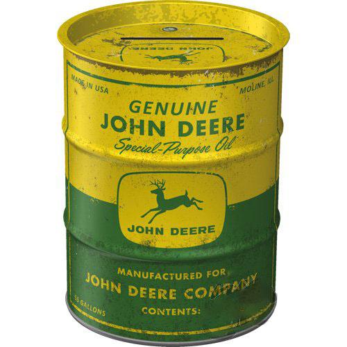 Hordó persely, JOHN DEERE 31502