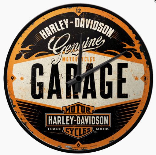 Falióra, HARLEY DAVIDSON GARAGE