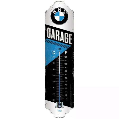 Hőmérő, BMW Garage