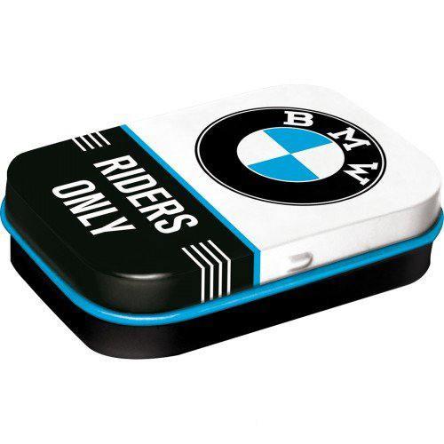 Doboz (cukorkás) BMW RIDERS ONLY 4b-os szett, mentholos cukorkát tartalmaz