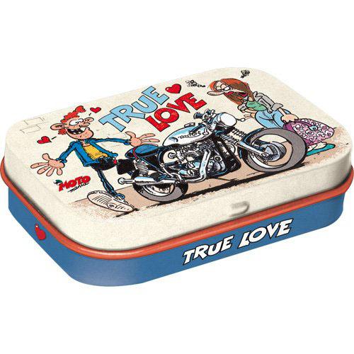 Doboz (cukorkás), TRUE LOVE4db-os szett, mentholos cukorkát tartalmaz