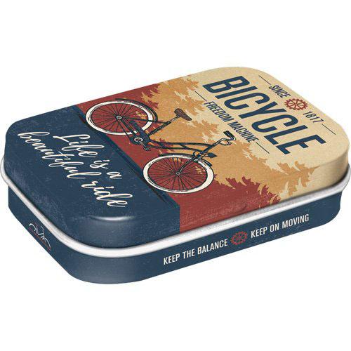 Doboz (cukorkás), BICIKLIS 4db-os szett, mentholos cukorkát tartalmaz
