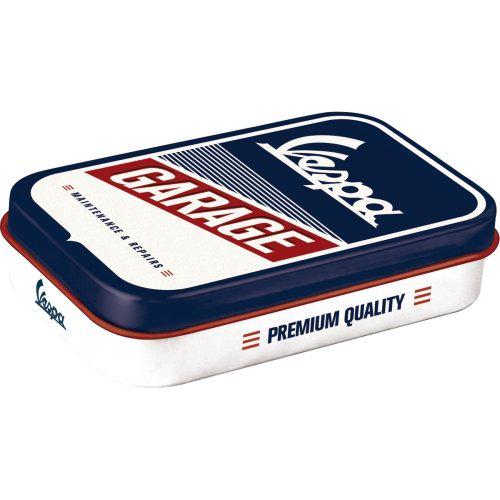 Doboz (cukorkás) VESPA The Italian Classic XL fém mentholos cukorkát tartalmaz