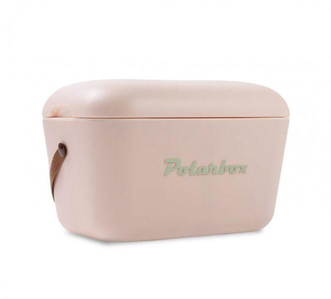Retro hűtőtáska, Polarbox 20 literes (világospink)