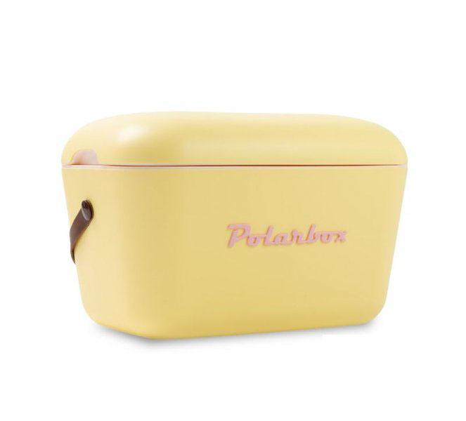 Retro hűtőtáska, Polarbox 20 literes (sárga)