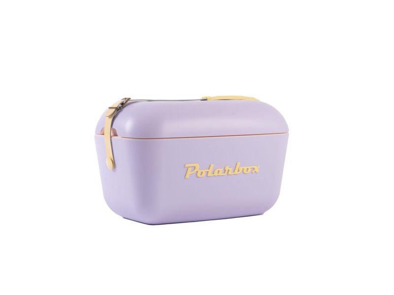Retro hűtőtáska, Polarbox 20 literes (lila)