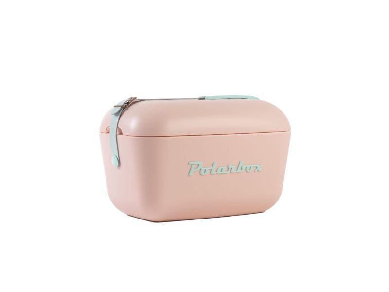 Retro hűtőtáska, Polarbox 20 literes (rózsaszín)