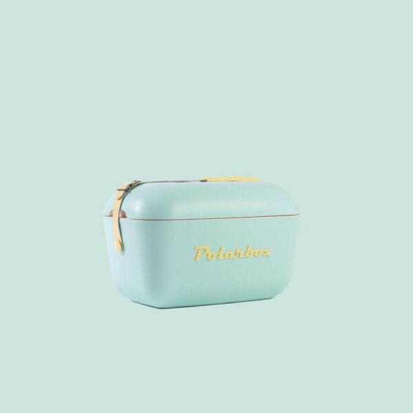 Retro hűtőtáska, Polarbox 20 literes (zöld)