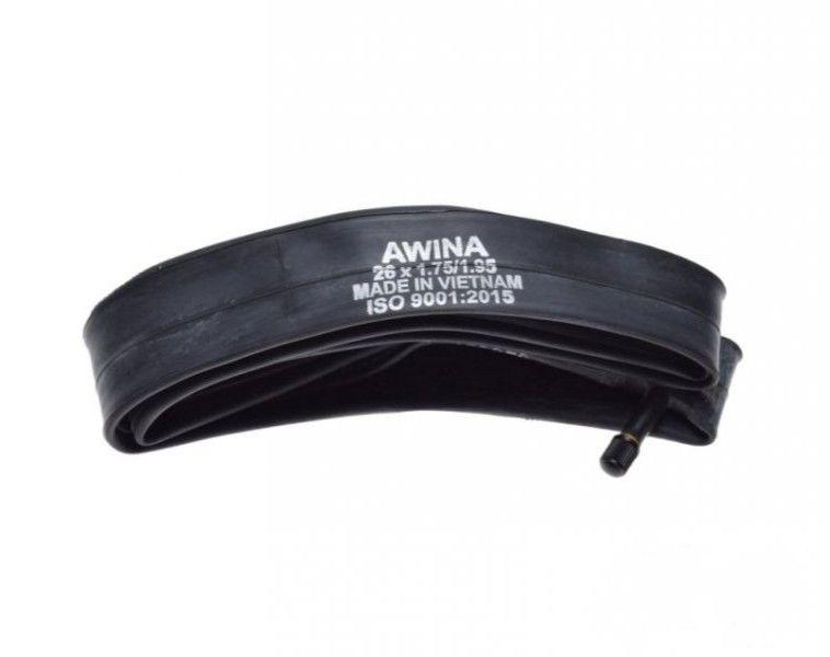 Tömlő belső kerékpár bicikli 12 x 1/2 x 1.75-2.25 AV AWINA