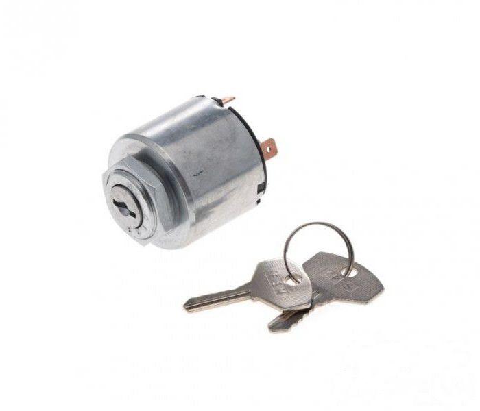 Zár, gyújtás kapcsoló + kulcs (2db) WSK/MINSK