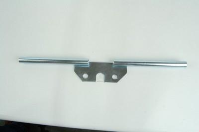 konzol, irányjelző lámpa, hátsó keskeny ZINC/PLAT. MZ SIMSON