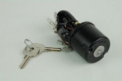zár szett, kulcs, gyújtás SR 8 kivezetéses