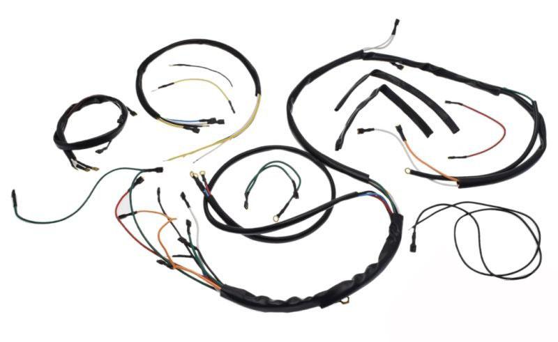 kábel köteg komplett WSK125 M06 B3 fekete
