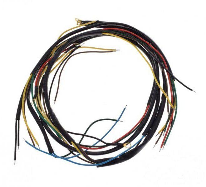 Kábel köteg komplett, WSK125 M06 B1 FEKETE