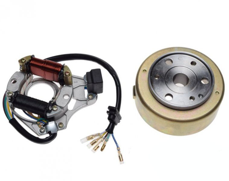 generátor komplett, generátor/gy. +generátor forgórész 4ütem