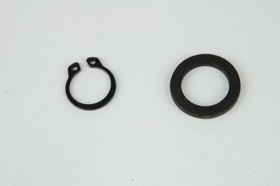 kapcsoló gyűrű szett, +alátét berugó kar tengely 4ütem GY6 50 4T