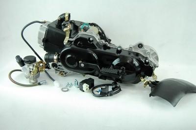 motor, komplett, 80cm3 + CDI szett tekercs 4ütem GY6 50 4T 139QM