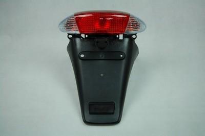 lámpa szett hátsó komplett +sárvédő QT-4.víztiszta index búrás