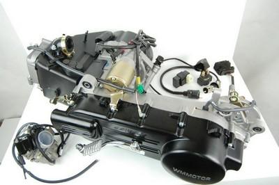 motor, komplett, 4ütem LJ150-QT4 karbi elektronika