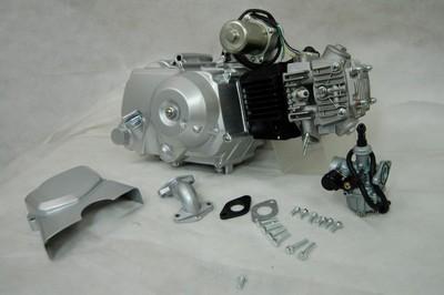 motor, komplett, ATV110CC AUT.