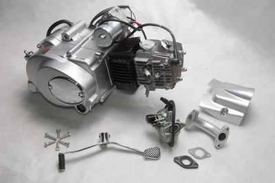 motor, komplett, ATV110CC 1 SPEED FORW./hátrameneti
