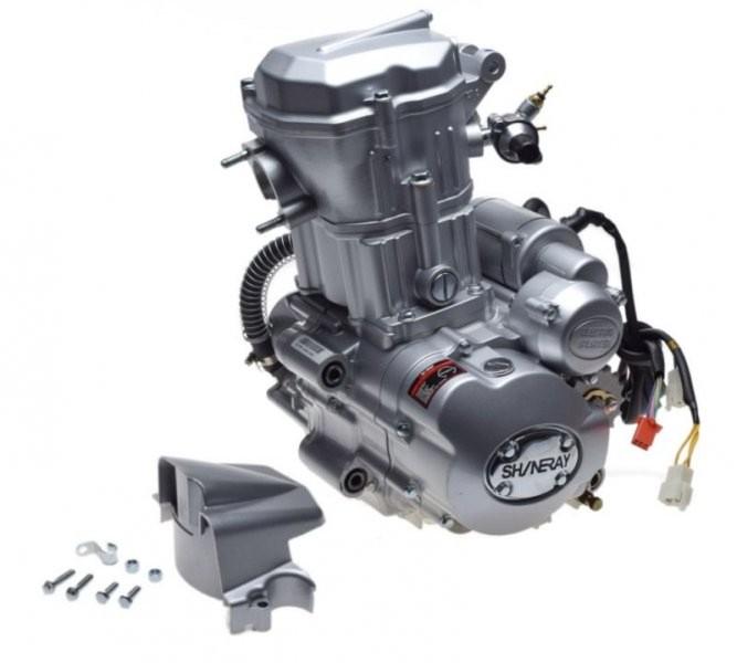 motor, komplett, ATV250 ST-9E vízhűt. Shineray 167MM